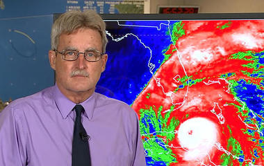 Hurricane Irma approaches Florida's west coast