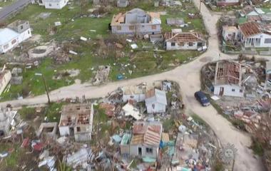 Irma batters Caribbean