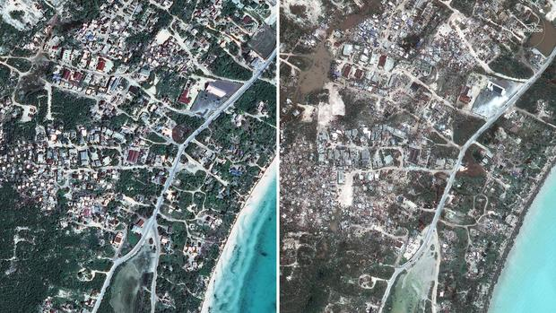 Before & after satellite photos of Hurricane Irma's destruction