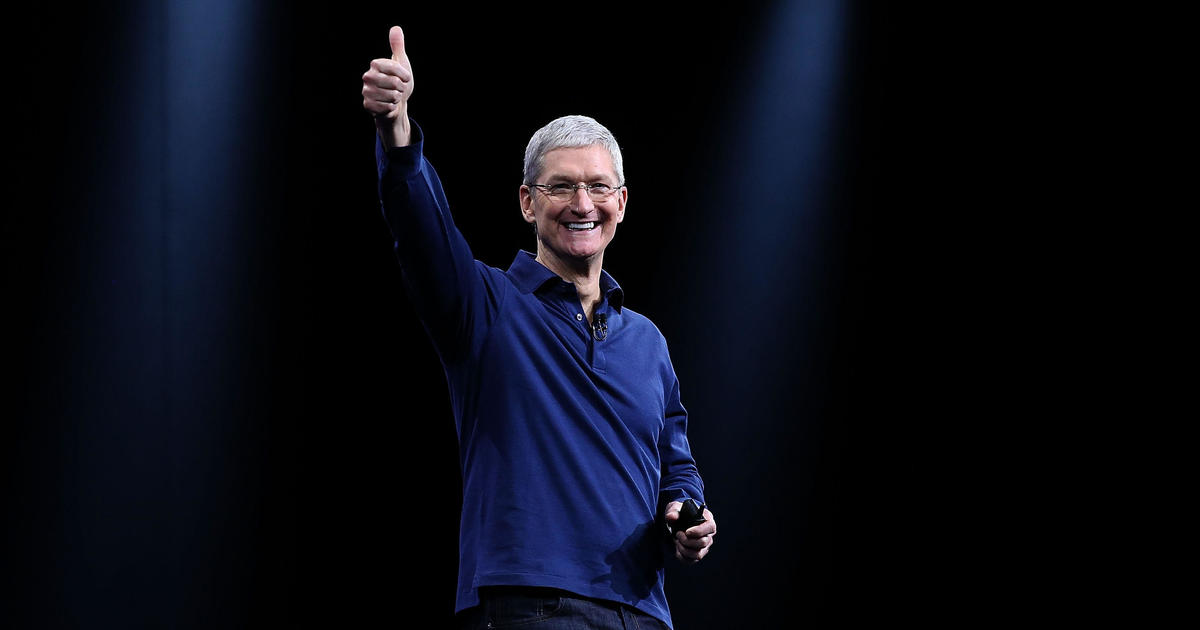 Tim Cook gets a pay raise as iPhone profits grow