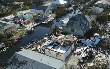 Rebuilding efforts begin after devastation from Harvey, Irma