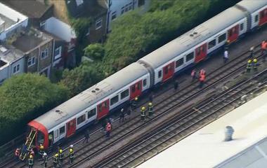 """""""Terrorist incident"""" on London underground train"""