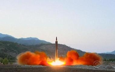 North Korea fired another missile over Japan, showing new weapon development