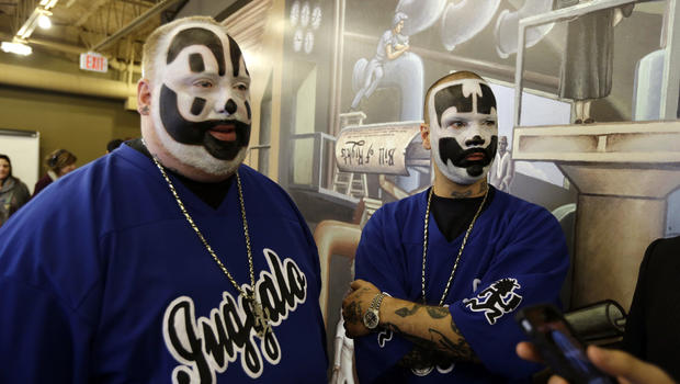 Juggaloes stage rally in DC