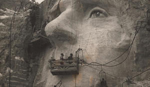 Honoring the chief carver of Mount Rushmore