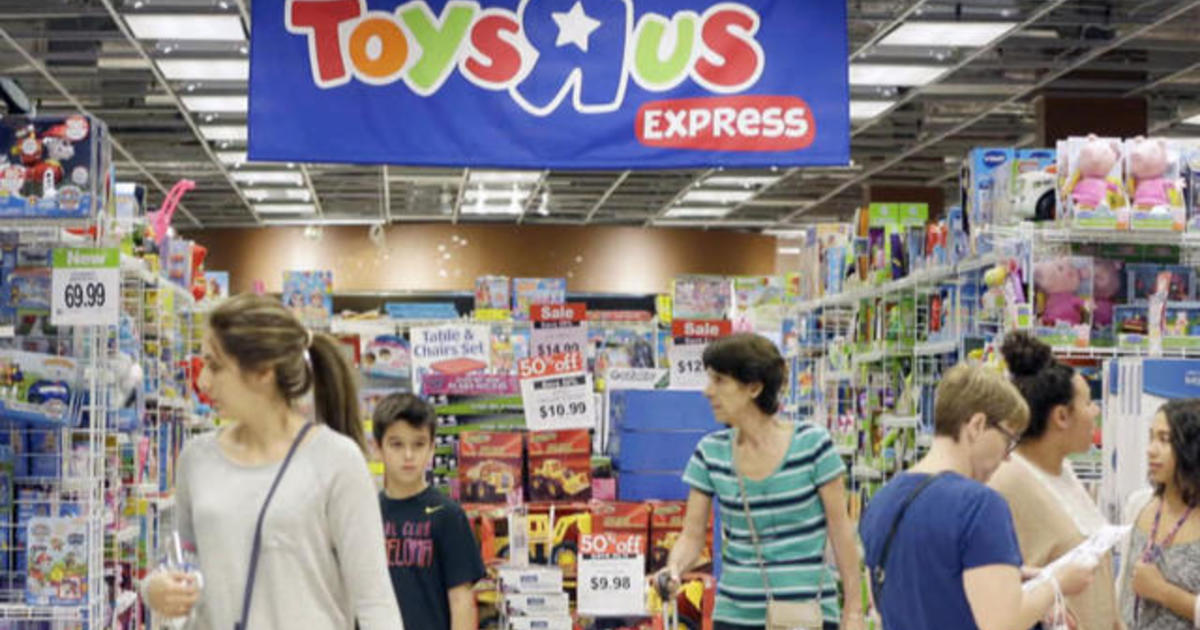Toys r us files for bankruptcy cbs news - Maisonnette toys r us ...
