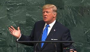 In UN debut, Trump talks tough on North Korea