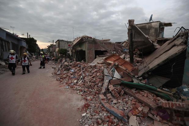 mexico earthquake september 19, 2017