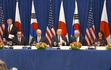 Trump announces new sanctions against North Korean regime
