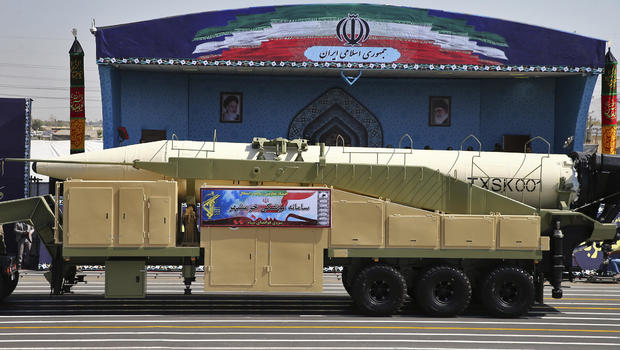 Iran Tests Ballistic Missile Amid US Tensions