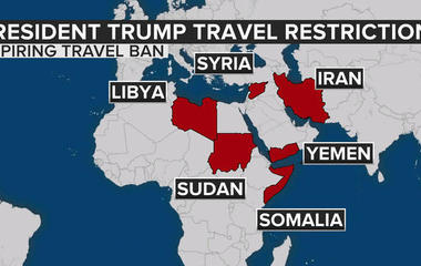 Trump administration rolls out new travel ban restrictions