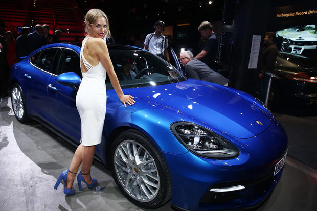 World Premiere Of New Porsche Panamera In Berlin