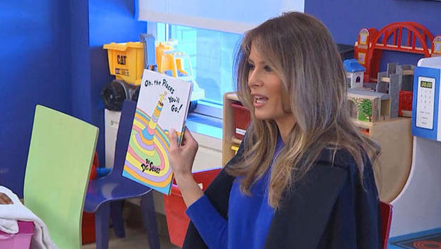MA librarian turns down 'cliche' books donated by Melania Trump