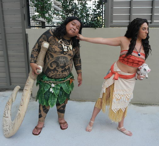 Great Moana   The Most Popular Halloween Costumes Of 2017   Pictures   CBS News