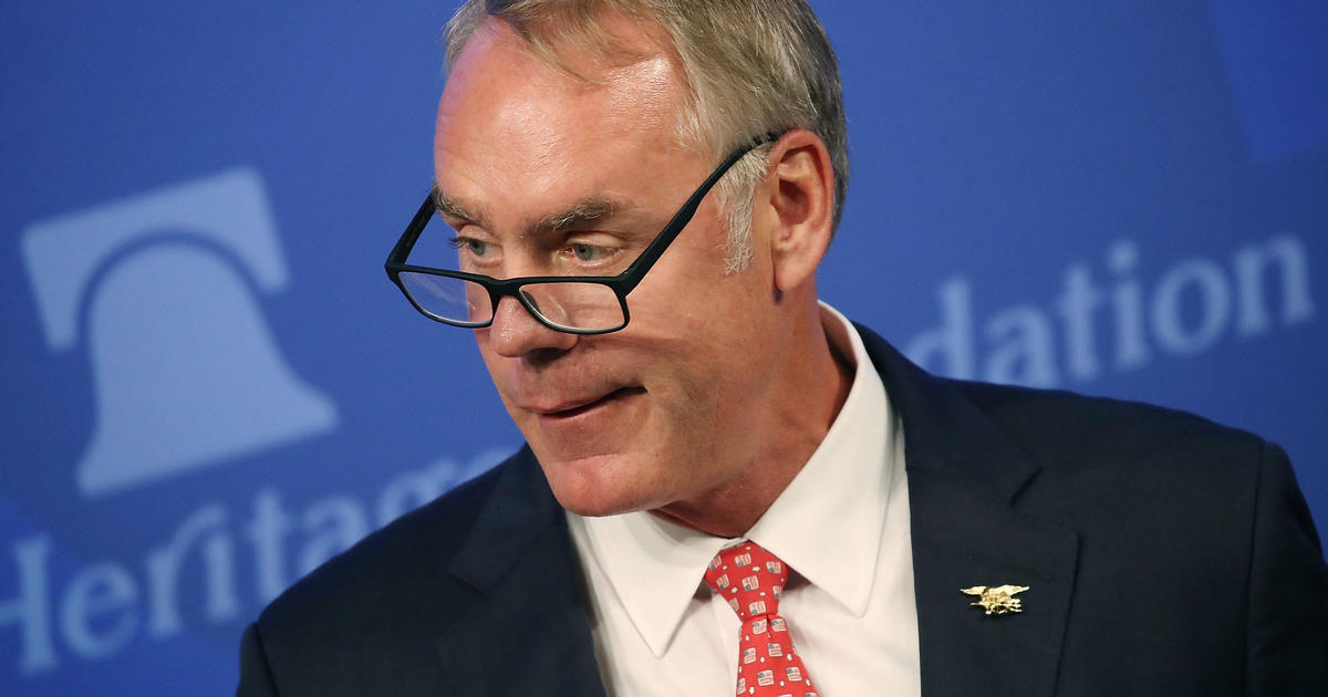 Ryan Zinke Plans To Move Hundreds Of Interior Dept Employees Out Of Dc Cbs News