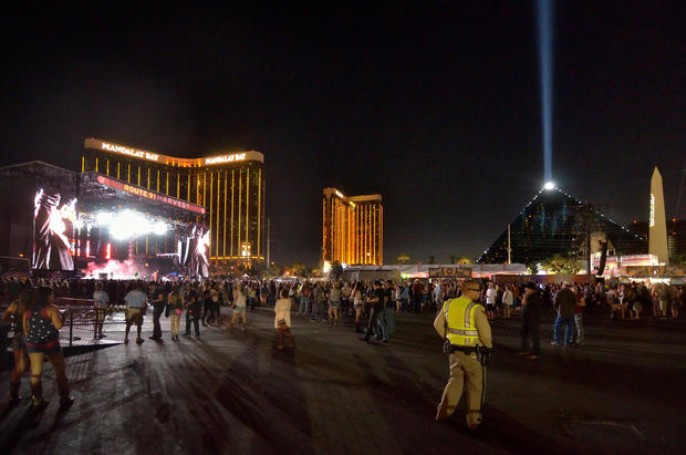 FILE PHOTO: The grounds are shown at the Route 91 Harvest festival on Las Vegas Boulevard South in Las Vegas