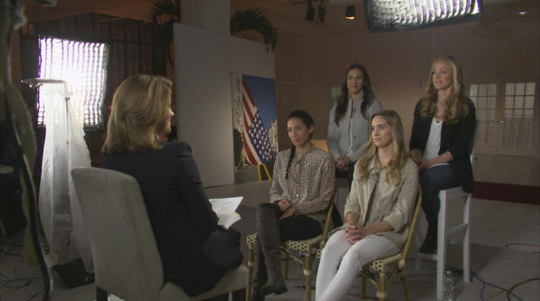 Team USA women\u0027s soccer players fight for equal pay - 60 Minutes - CBS News