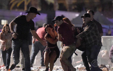 Stories of intrepidity emerge in arise of Las Vegas sharpened
