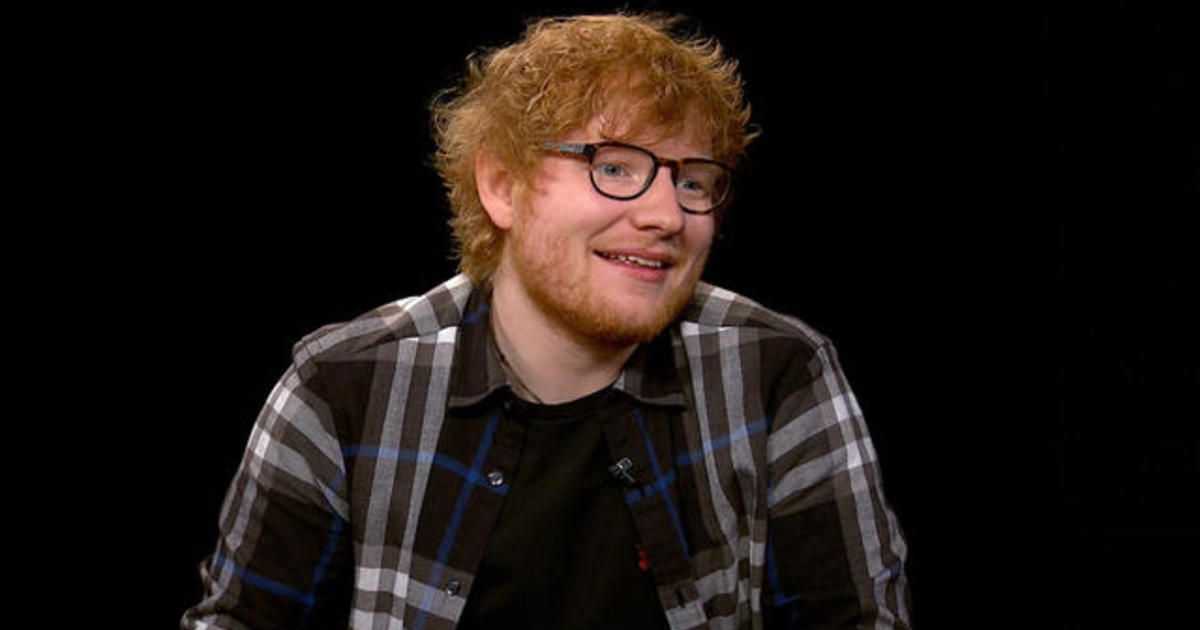 """Ed Sheeran: """"Persistence is worth more than talent"""""""