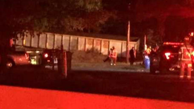 Train derails, hitting house; 1 hospitalized
