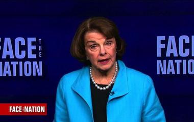 Dianne Feinstein discusses check to anathema strike batch inclination
