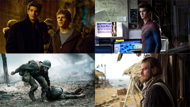 andrew garfield the social network the amazing spider man hacksaw ridge silence montage 620 A Profile On Actor Andrew Garfield