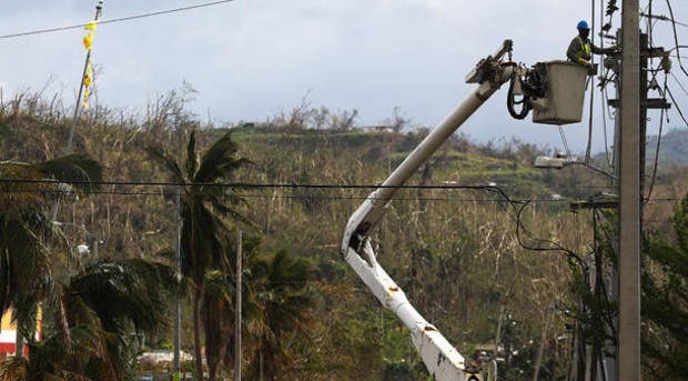 Puerto Rico Faces Extensive Damage After Hurricane Maria