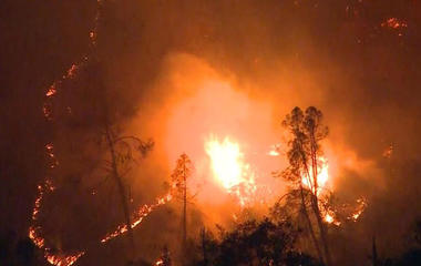How does climate change affect wildfires?
