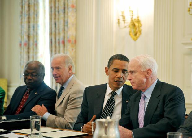 US President Barack Obama talks during a