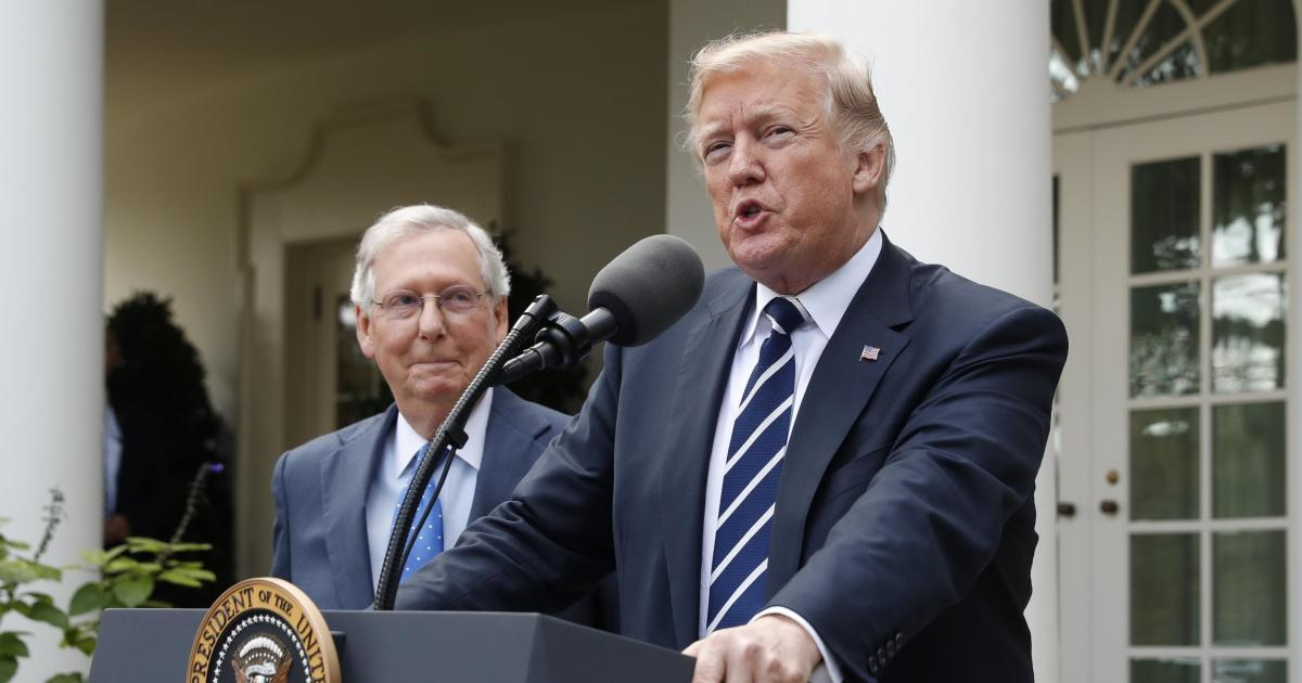 Trump, McConnell forge partnership as midterms approach