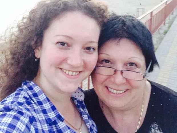 Nadia Ford and Alla Aleksenko
