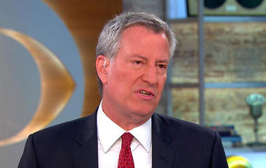 "NYC mayor on terror attack: ""Don't hesitate"" to share suspicious info with NYPD"