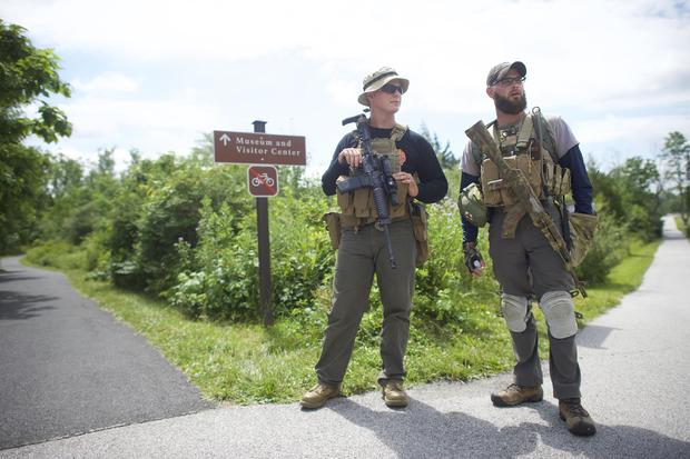 Groups Protest on Gettysburg National Historic Park