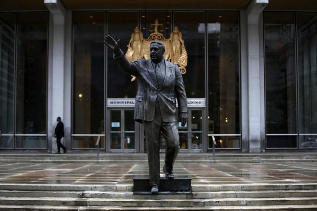 Rizzo Statue