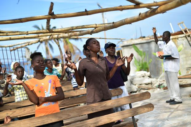 TOPSHOT-HAITI-DISASTER