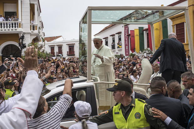 COLOMBIA-POPE-VISIT