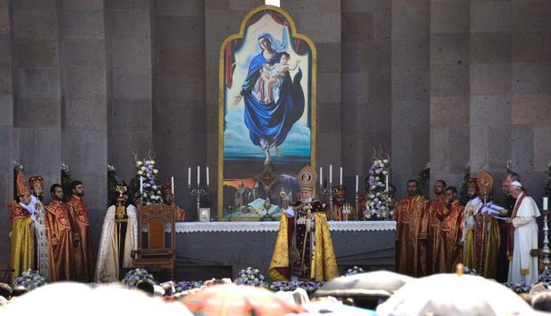 ARMENIA-POPE-RELIGION