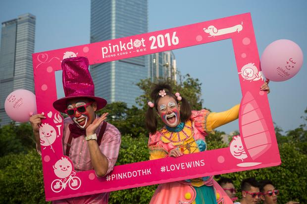 HONG KONG-RIGHTS-LIFESTYLE-GAY-LGBTI