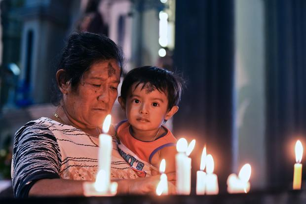 EL SALVADOR-RELIGION-ASH WEDNESDAY