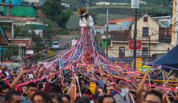 TOPSHOT-COSTA-RICA-RELIGION-HOLY-WEEK-HOLY WEEK