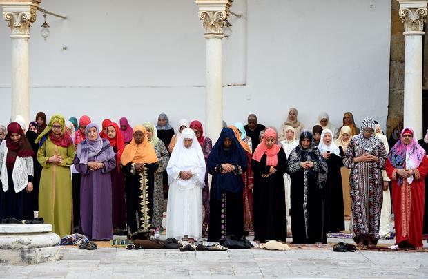 TUNISIA-RELIGION-ISLAM-EID