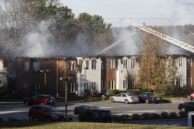 APTOPIX Senior Living Community Fire