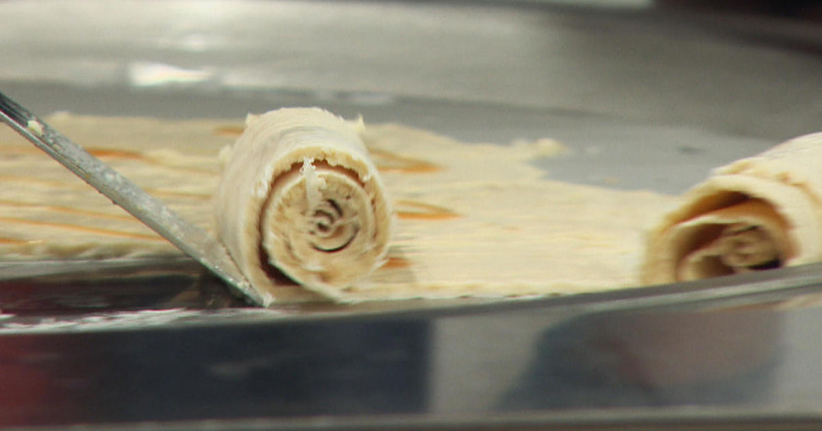 Todays special rolled ice cream cbs news ccuart Images