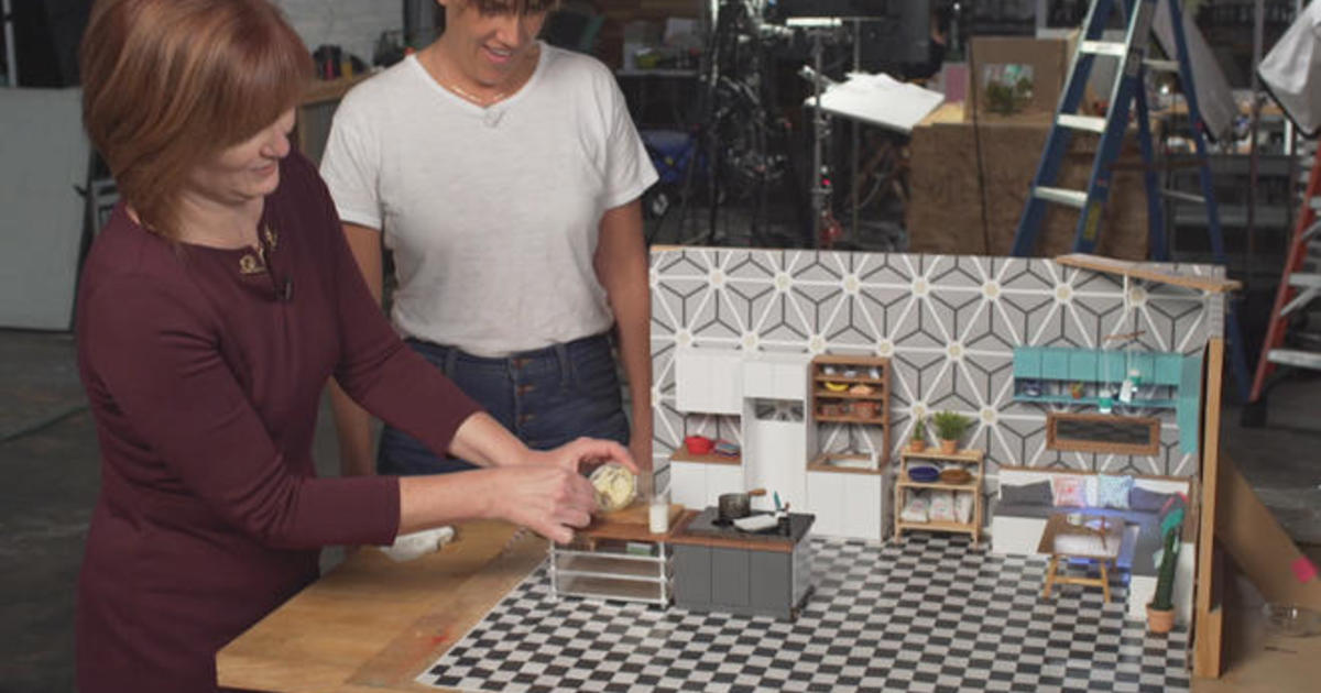 Creating Tiny Food For Kitchen Cbs News