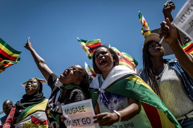 SAFRICA-ZIMBABWE-POLITICS