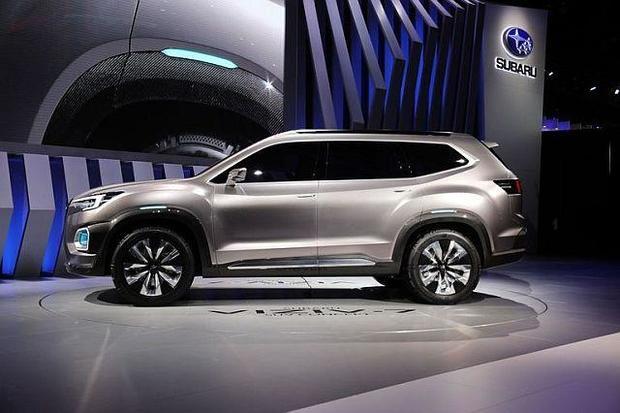 Subaru Ascent - Los Angeles Auto show: 5 cars sure to draw ...