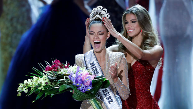 Miss south africa demi leigh nel peters wins miss universe cbs news gumiabroncs Images