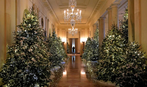 Christmas Decorations White House Christmas 2017