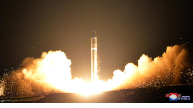 north korea missile test november