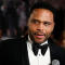 Actor Anthony Anderson is interviewed as he arrives for the Kennedy Center Honors in Washington